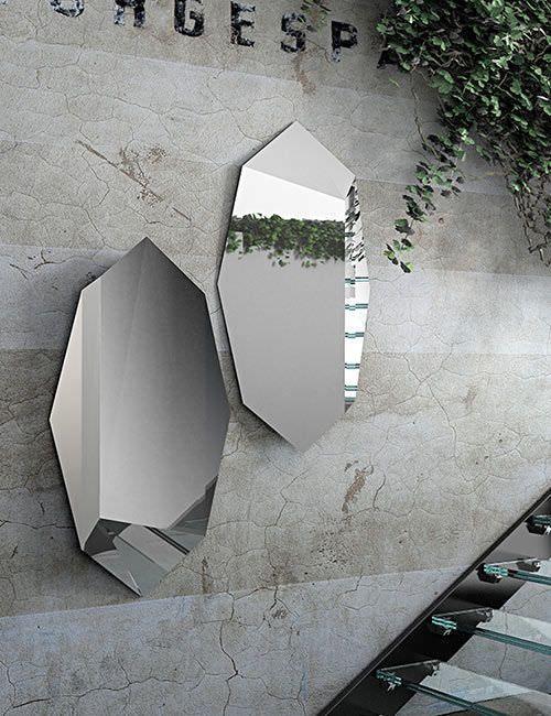 Wall mirror / contemporary PRISMA Riflessi S.r.l.
