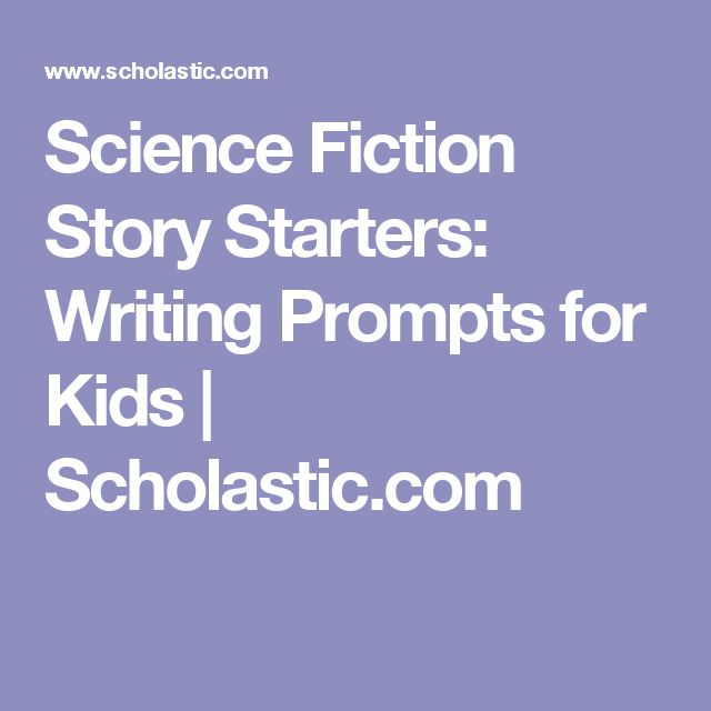 science fiction creative writing topics How to write science fiction  some of your more creative readers may even make up their own  can you give me more ideas about writing a.