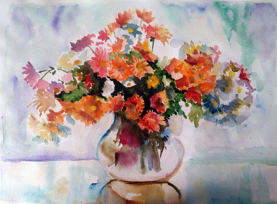 Check out this item in my Etsy shop https://www.etsy.com/listing/486546354/watercolor-flowers-floral-still-life
