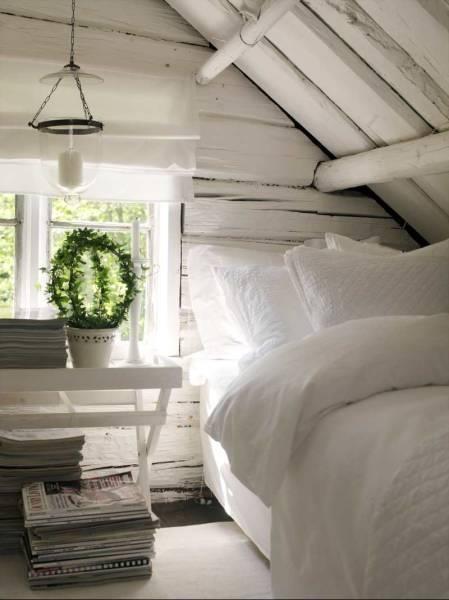 Jednu místnost celou bílou (pro návštěvy)