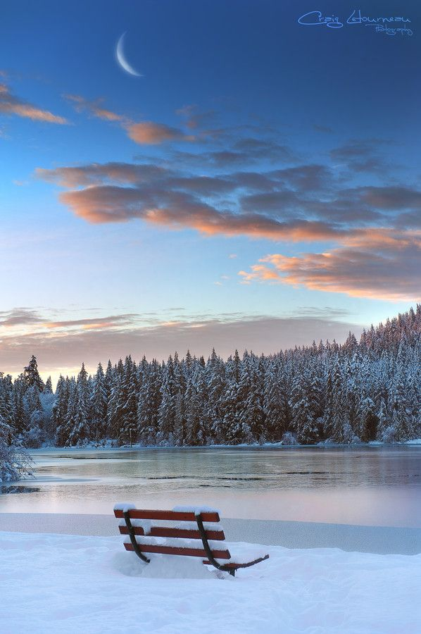 A Winter's View by Craig Letourneau on 500px
