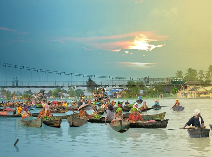 Lok Baintan, South Borneo/INDONESIA