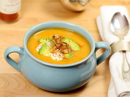 Butternut Squash and Roasted Pepper Soup Recipe | Savory Spice Shop