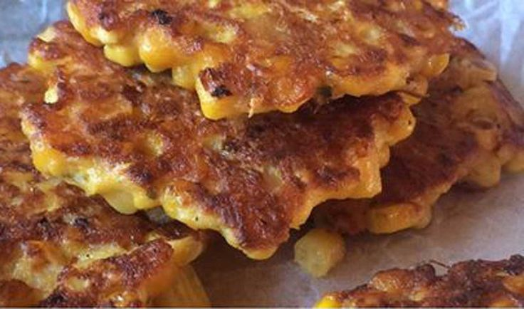 Nici Wickes: Deluxe sweet corn fritters