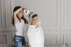 Lustige Silvester Spiele für Kinder - Mumie aus Toilettenpapier