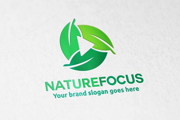 Nature Focus camera Logo by @Graphicsauthor