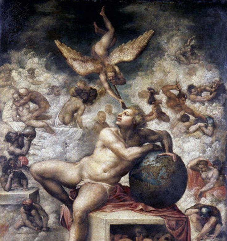 Michelangelo, The Dream, 1475-1564