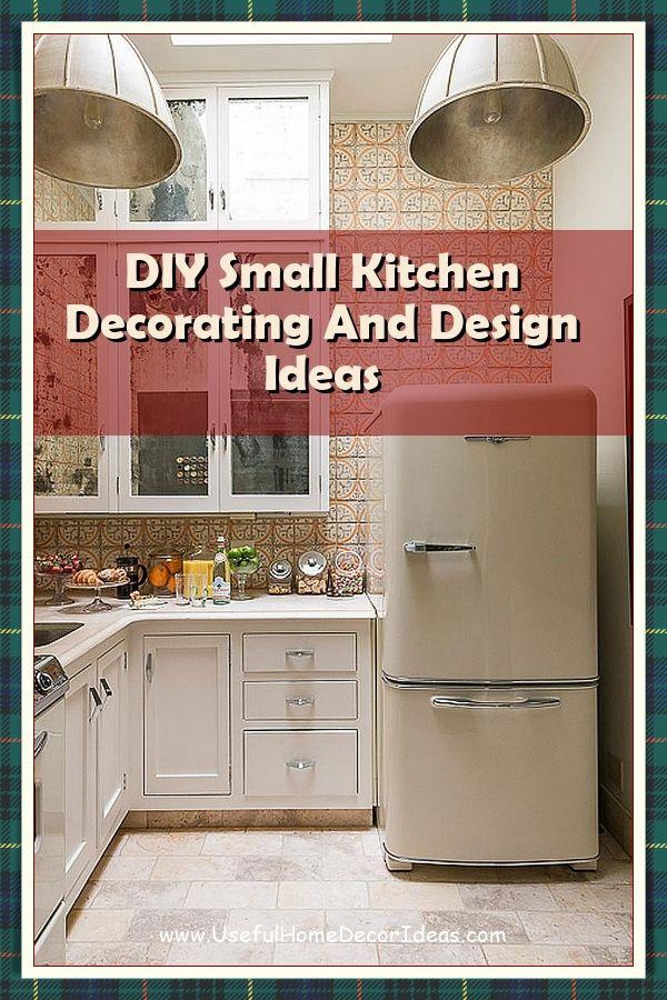 Brilliant Small Kitchen Decor Ideas Revealed Small Kitchen Small Kitchen Decor Kitchen