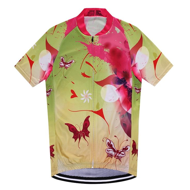 2017 Women Cycling Jersey Short Sleeve Pro Breathable Summer Cycling Clothing Downhill Cycle Bike Jersey Chaleco Ciclismo #Affiliate