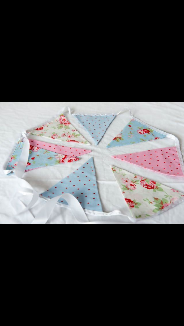 Cath Kidston bunting available for hire