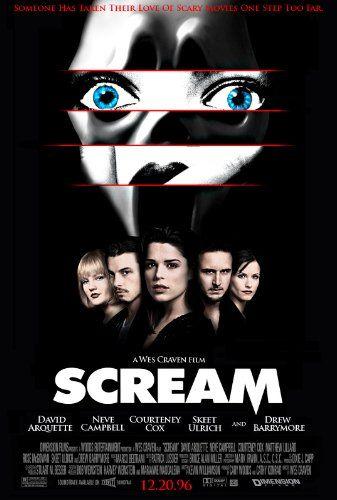 Scream 1996 Peliculas De Terror Afiche De Pelicula Peliculas De Miedo