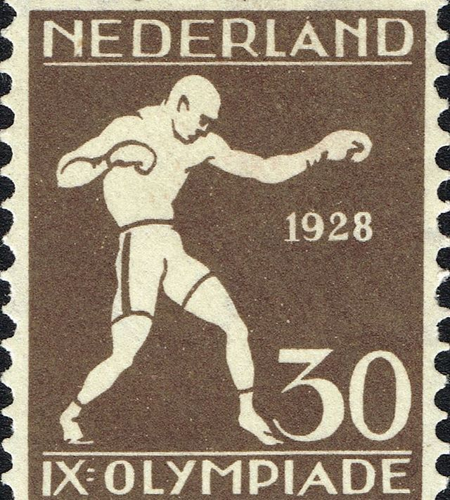 1928 stamp from the 1928 #Olympics in #Amsterdam, #Netherlands representing boxing. Ray Smillie from #Toronto won a #bronze medal for #Canada in #boxing at those Games. #DOcrew #downtobusiness #onthegrind #btbmag #btbmagazine #dameonokposio #workhardplayhard #fightfamily #boxinggame #doboxingsales #doboxingclub #thesweetscience