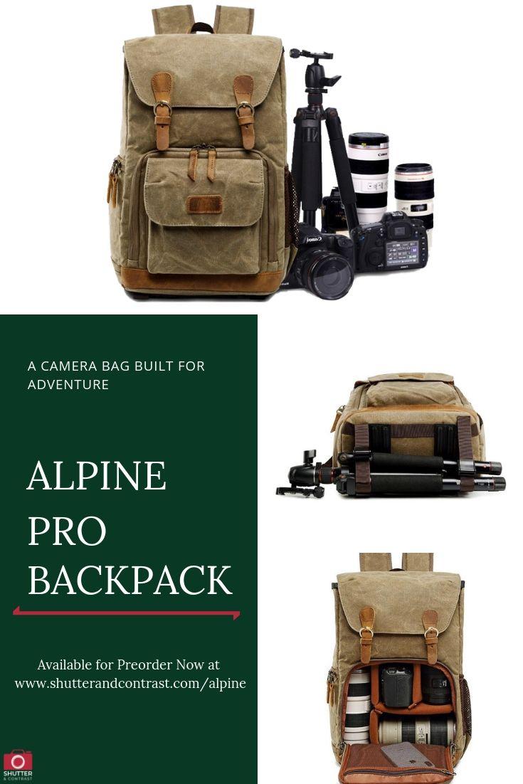 alpine camera bag shoulder