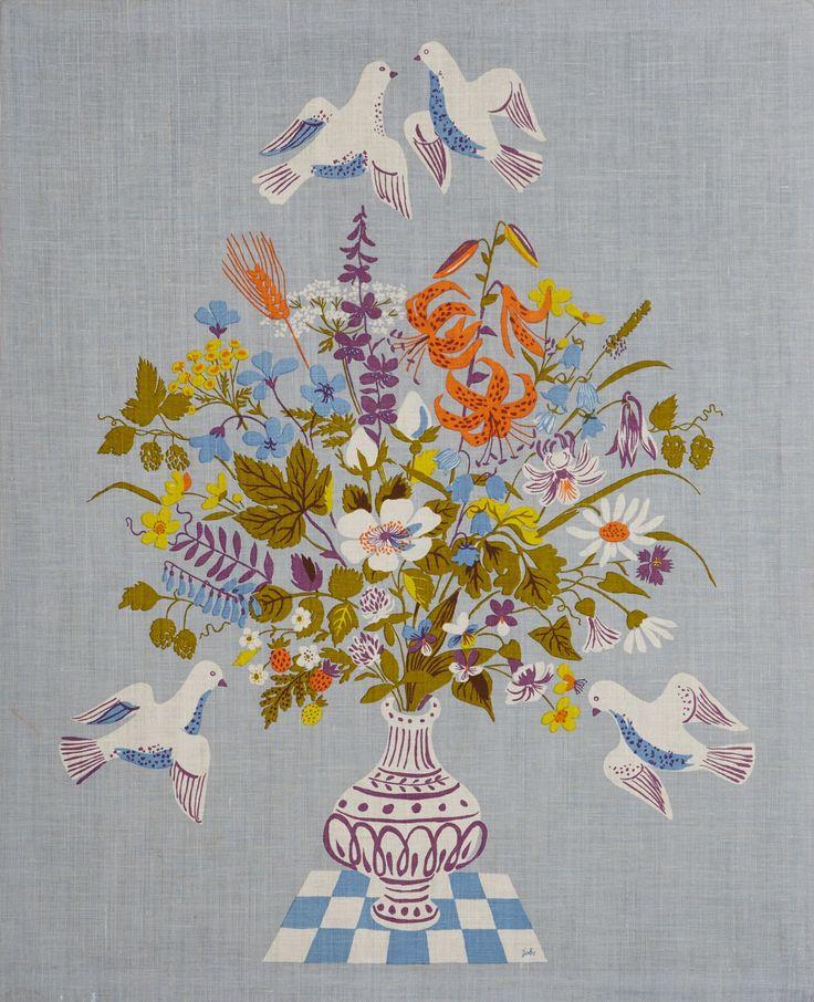 Textiltryck Lisbet Jobs | Stockholms Auktionsverk Online