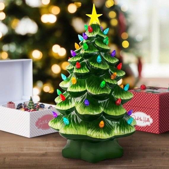 These Nostalgic Christmas Trees Are Making A Comeback If You Gre Vintage Ceramic Christmas Tree Vintage Christmas Decorations Beautiful Christmas Decorations