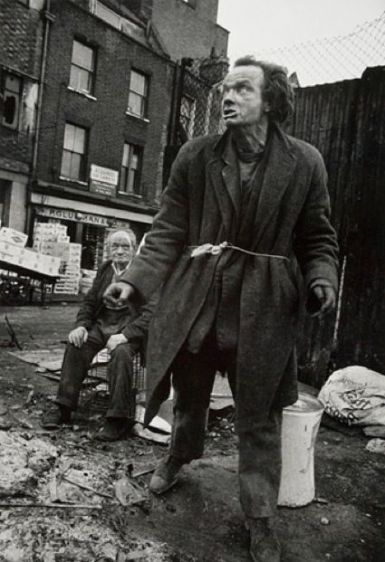 Spitalfields tramps by Don McCullin