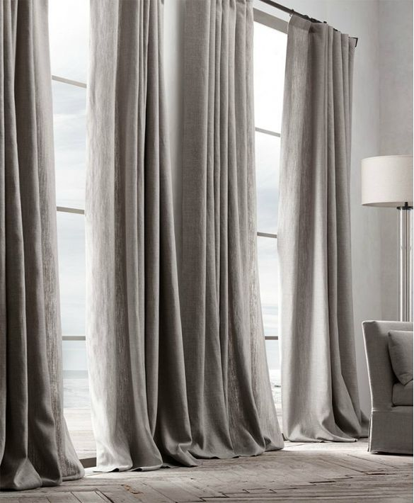 25 best ideas about linen curtains on pinterest design for Restoration hardware window shades
