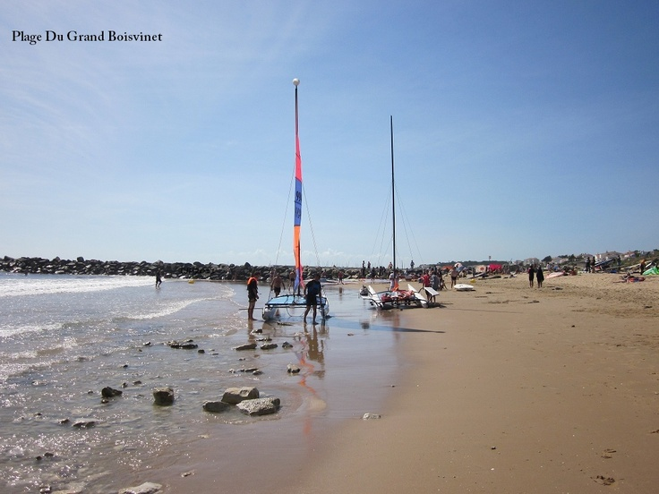 Holidays in the Vendee by Thomas James Vendee Holidays. Grand Boisvinet Beach Jard Sur Mer