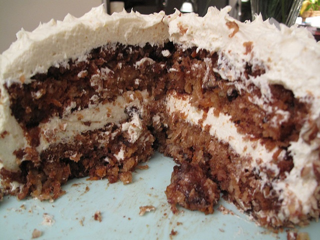 Copycat Recipe...Morton's Steakhouse Carrot Cake  http://www.keyingredient.com/recipes/7864151/mortons-the-steakhouse-carrot-cake/