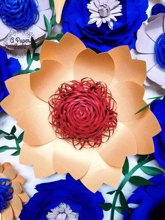 Giant Paper Flower, Paper Flower Backdrop, Paper Flower, Wedding Centerpiece