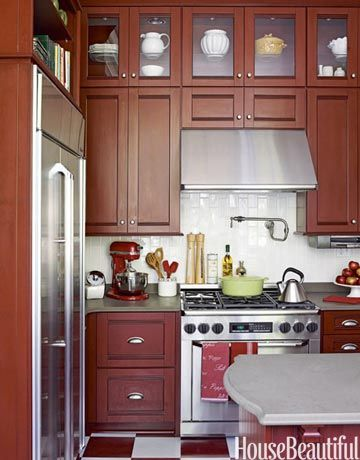 Cabinets with period charm. Design: Emily O'Keefe. #cabinets #kitchen