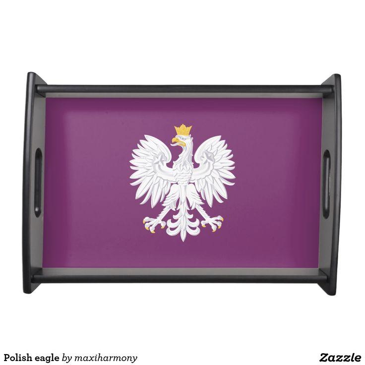 Polish eagle service trays