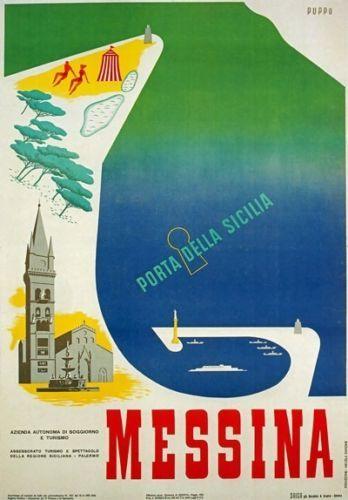 Messina, porta della Sicilia - 1950's - (Mario Puppo) -