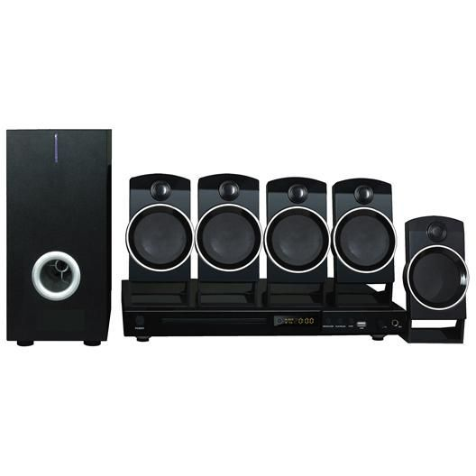 Naxa 5.1CH home theater DVD & Karaoke system #hometheater