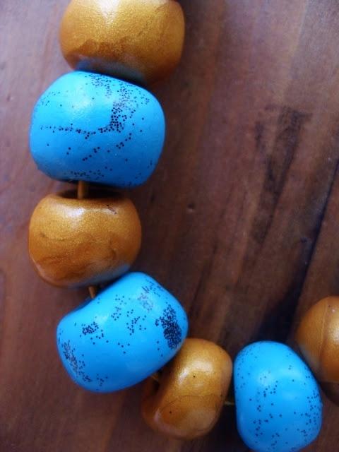 WitchCraft In Progress: Polymer clay,chains,threads ,pearls and me! / Πολυμερικος πηλος,κλωστες,αλυσιδες,μαργαριταρια+γω!!