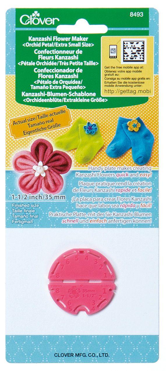Clover Extra Small Kanzashi Flower Maker Orchid Petal Part No.