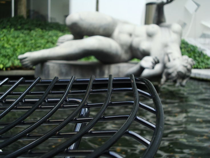 The lovely Sculpture Garden at the MoMA