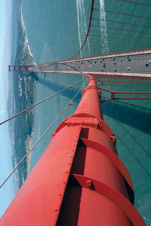Golden Gate birds eye view