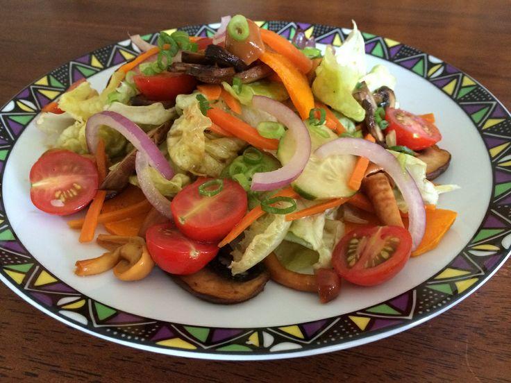 Garden Variety with Roasted Pumpkin & Mixed Sautéed Mushrooms