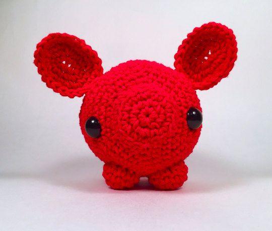 Crochet Amigurumi Pig Pattern by EmmandSkootch on Etsy