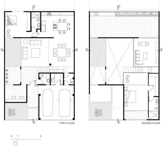 Cereza House,Plans