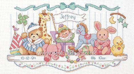 Toy Estante Registro de Nacimiento