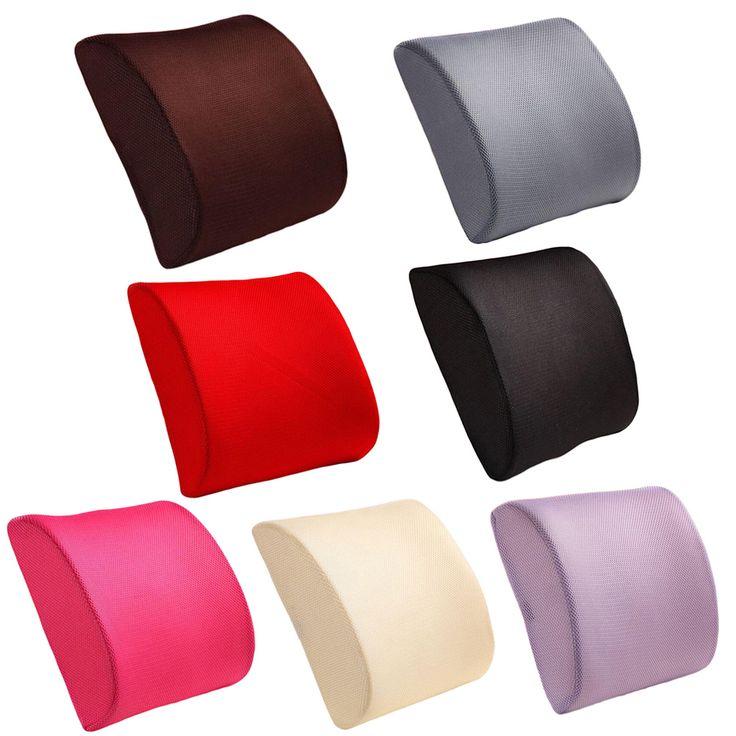 Wysokiej Jakości Mody Memory Foam Seat Krzesło Lędźwiowego Pleców poduszka Poduszka Dla Biura Samochód Auto Siedzenia Krzesło Czarny Czerwony kolor w  zapraszamy Drop Shippingcechy:1. o Wysokiej gęstości pianka wsparcie lędźwiowe poduszki poduszki opieki zdrowotnej.2. D od Seat Supports na Aliexpress.com | Grupa Alibaba