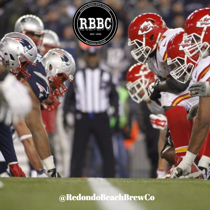 Are you ready for some #FootBall?! #NFL season starts TONIGHT! #Chiefs vs #Patriots Get over to the Best #SportsBar in #RedondoBeach #RBBC #Brewery #BrewCo