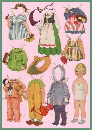 oldiesskriftrulle: Princess (now Queen) Margrethe of Denmark paper dolls