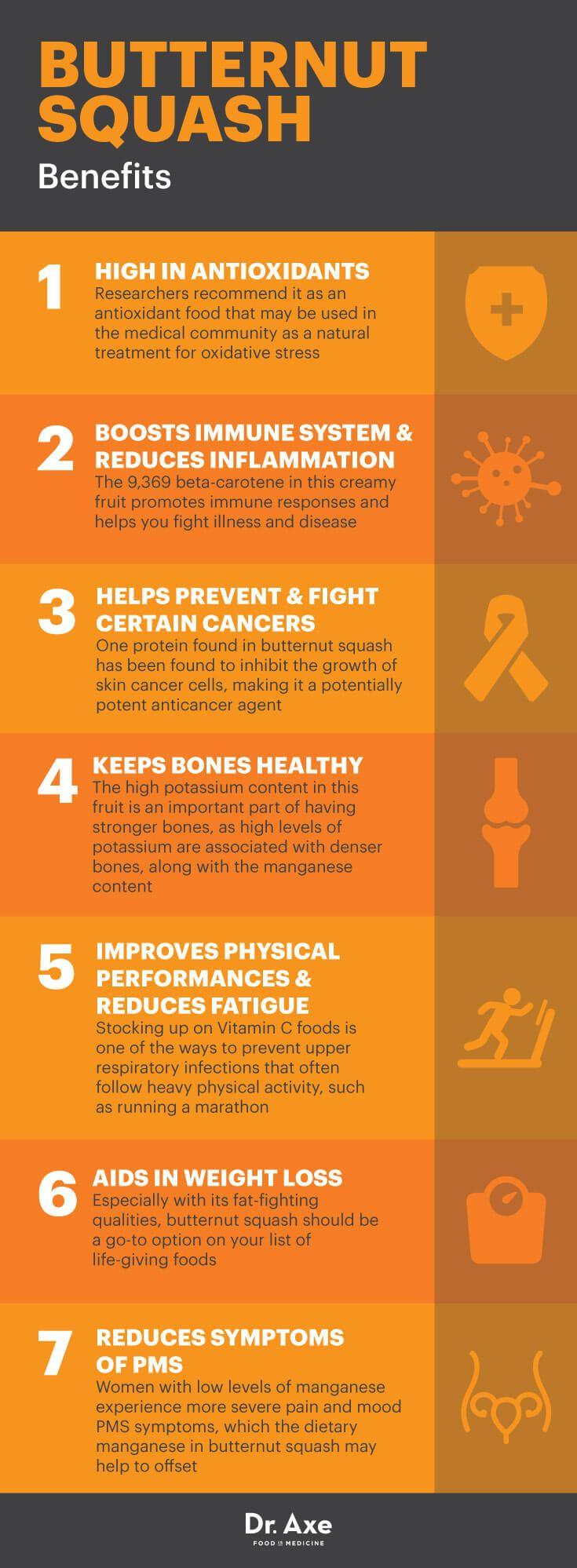 Butternut squash benefits - Dr. Axe  http://www.draxe.com #health #holistic #natural