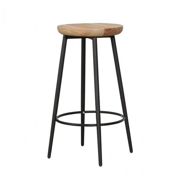 Yorke Counter Stool ❤ liked on Polyvore featuring home, furniture, stools, barstools, round furniture, round stool, ash wood furniture, round bar stools and ash furniture