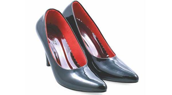 Sepatu Pantofel Wanita|Sepatu Kerja Wanita|Sepatu High Heels Cewek Mumer Kulit Formal Branded Murah Terbaru|DES 205