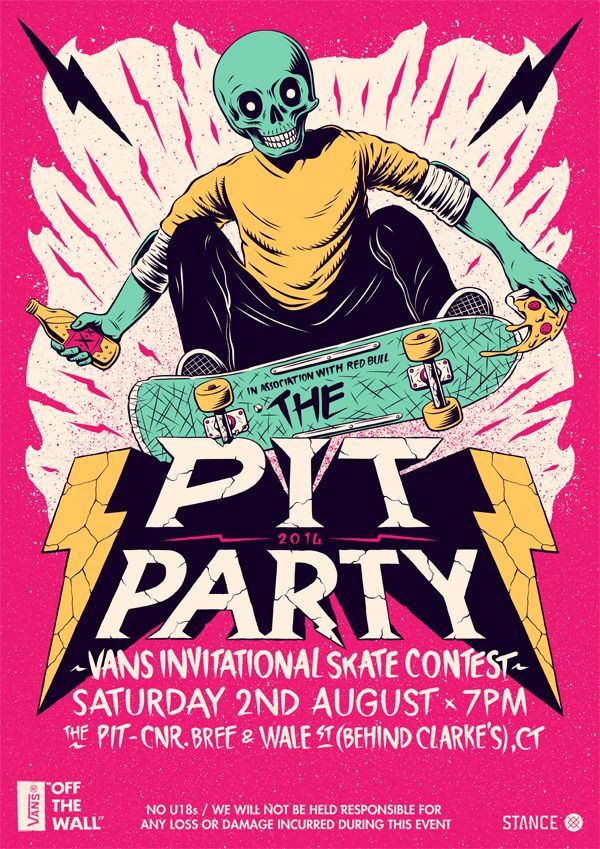 https://www.behance.net/gallery/18416681/The-Pit-Party-2014-Poster