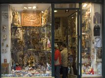 Sobrinos de Perez--this shop specializes in religious (Catholic) articles.  Interesting to look around