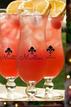 Mardi Gras #february big batch Hurricane cocktail recipe