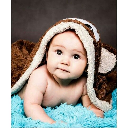 Cute baby dressing gown