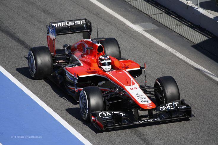 2013 Marussia MR2 - Cosworth (Max Chilton)
