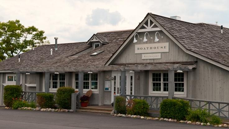 Boathouse Restaurant on Bowers Harbor, Old Mission Peninsula Restaurant
