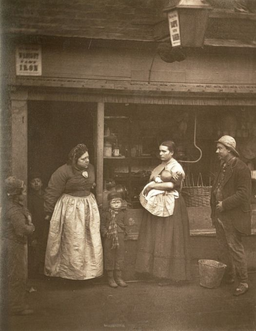 Street Photographs Of London In The 19th Century - DesignTAXI.com