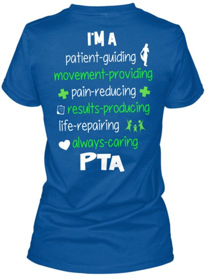 Tyra, you need to get one of these darn things!  Instead of leaving yourself notes to!  LOL.  PTA Tee